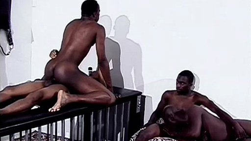 Nasty Black Gays Having Group Sex